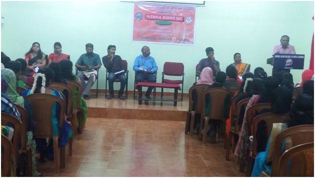 Guest Lecture by Dr.S.K. Sundar, Asst Prof,  M R  Govt Arts and Science College, Mannargudi